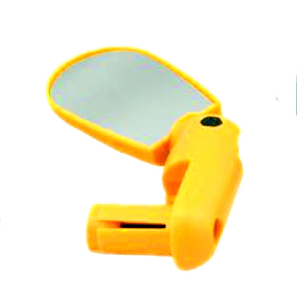 Universal MTB Bar End Bike Mirror Adjustable Plug-in Type 360° Rotation Rear View Mirror Back Mirror