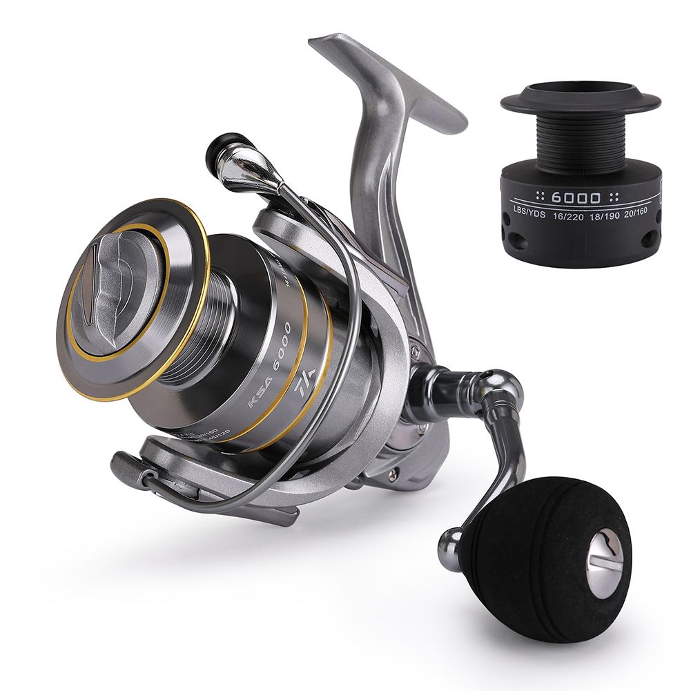 Fishing Reel Spinning Wheel Reel All-metal Wire Cup Fishing Equipment KSA5000
