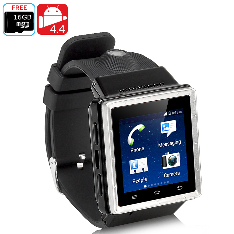 ZGPAX S6 Android Watch Phone (Black)