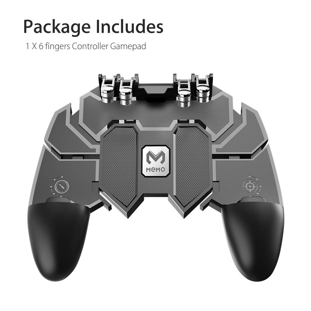 Mobile Phone Game Controller Gamepad Joystick for IOS Android PUBG Fortnite black
