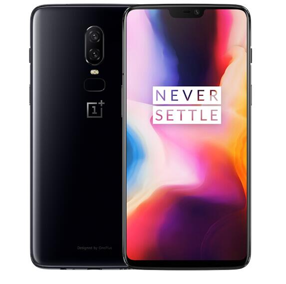 Oneplus 6 6.28 inch  Smartphone - black - UK