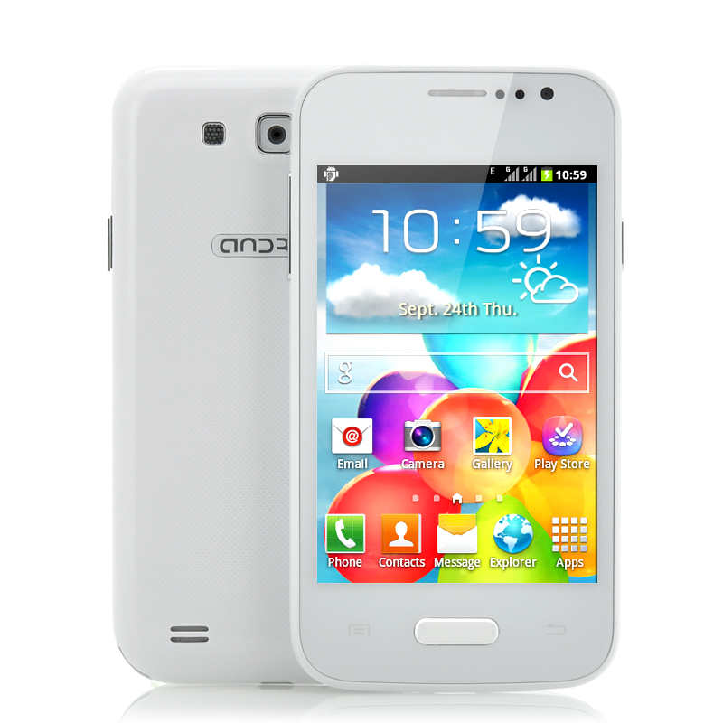 4 Inch Cheap Android Phone - Float (W)