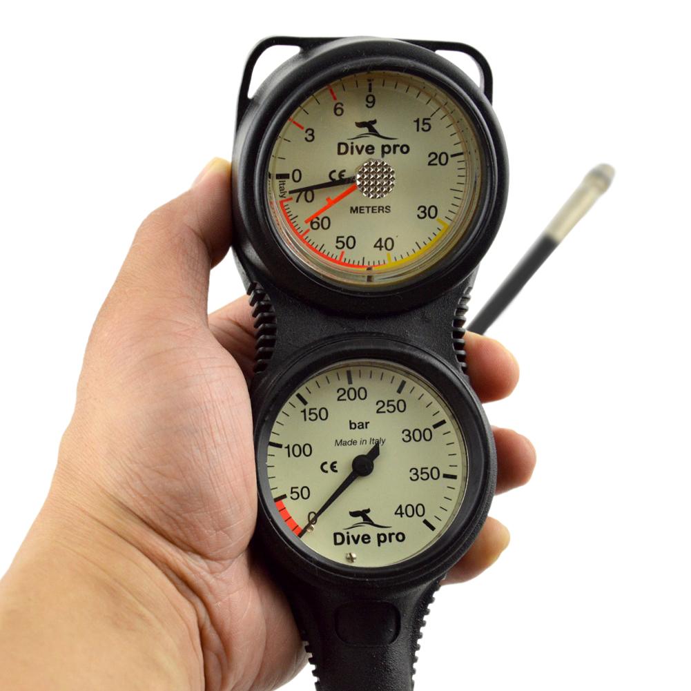 Professional Diving Pressure Meter Waterproof Depth Meter for Swimming Underwater GG-995