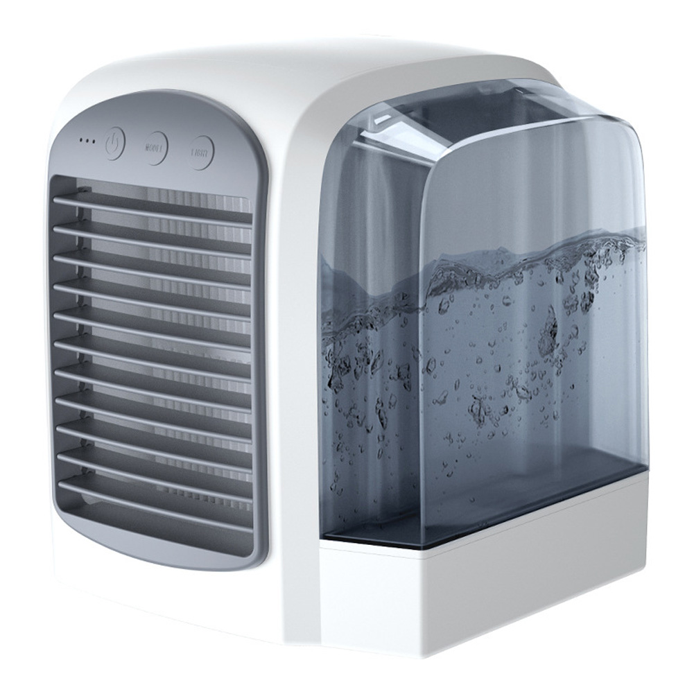 Water-Filled Water-cooled Air-conditioning Silent Fan gray