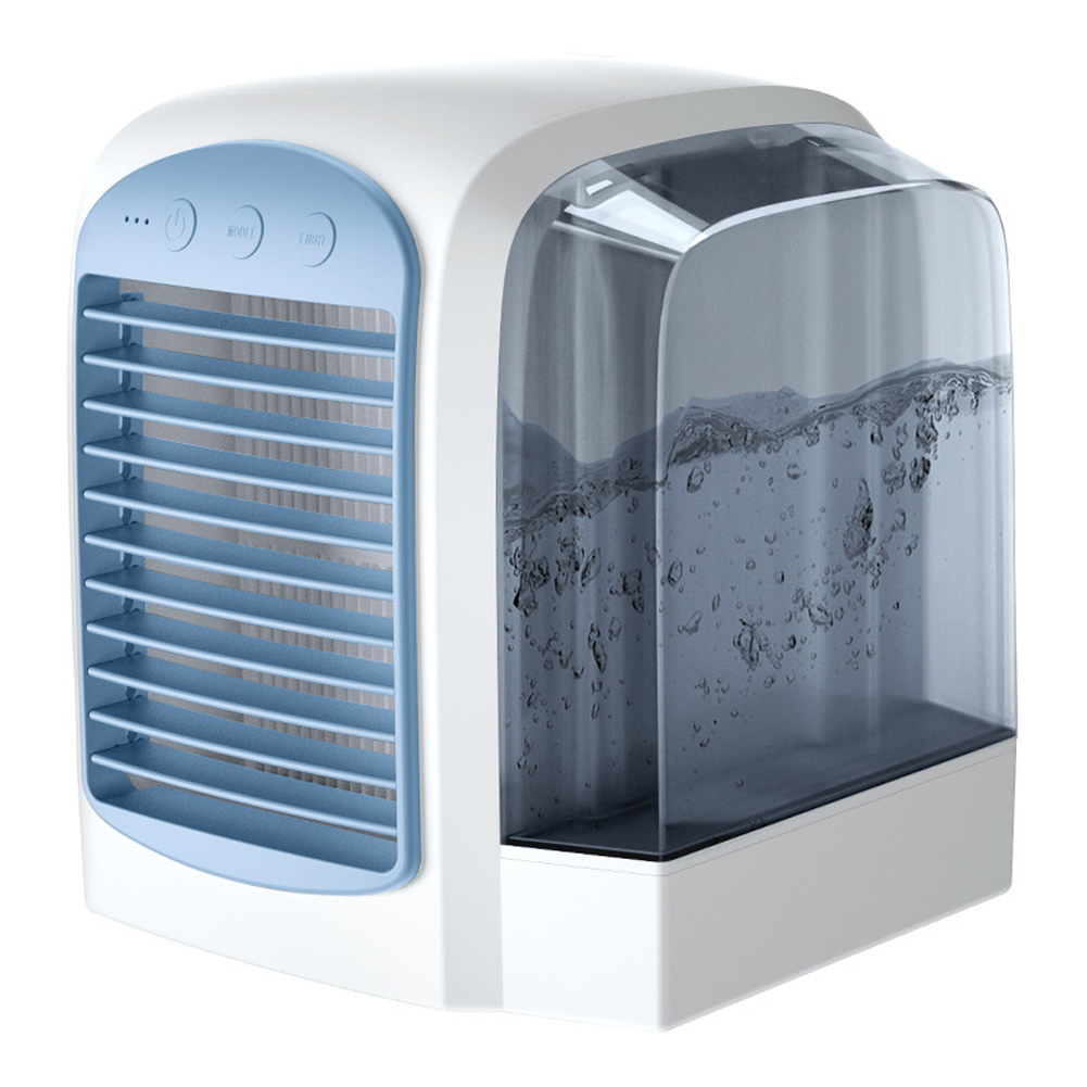 Water-Filled Water-cooled Air-conditioning Silent Fan blue