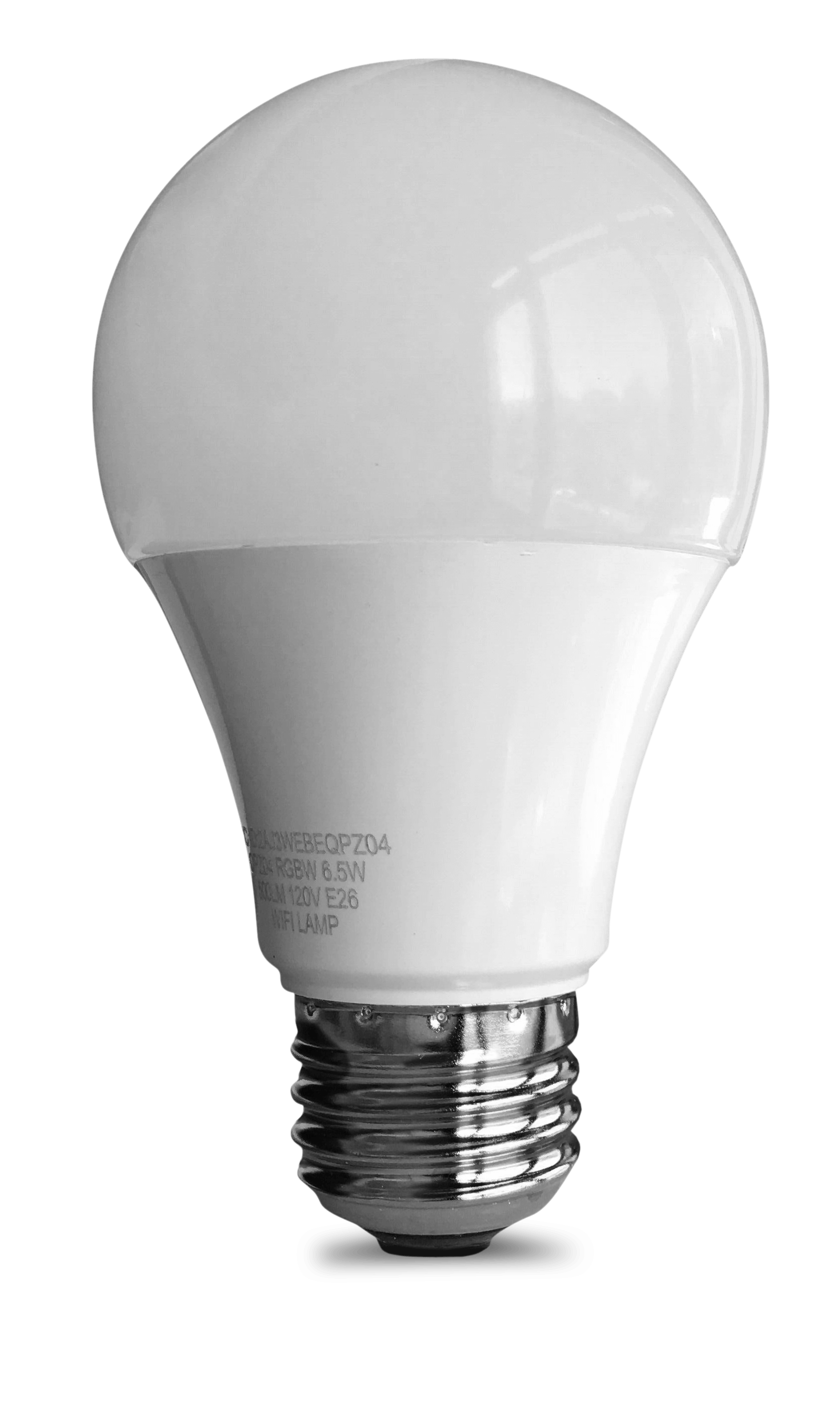 [US Direct] Original ECO4LIFE WiFi Smart Color Changing LED Bulb, Compatible with Alexa, Google Assistant, IFTTT (Single Pack)