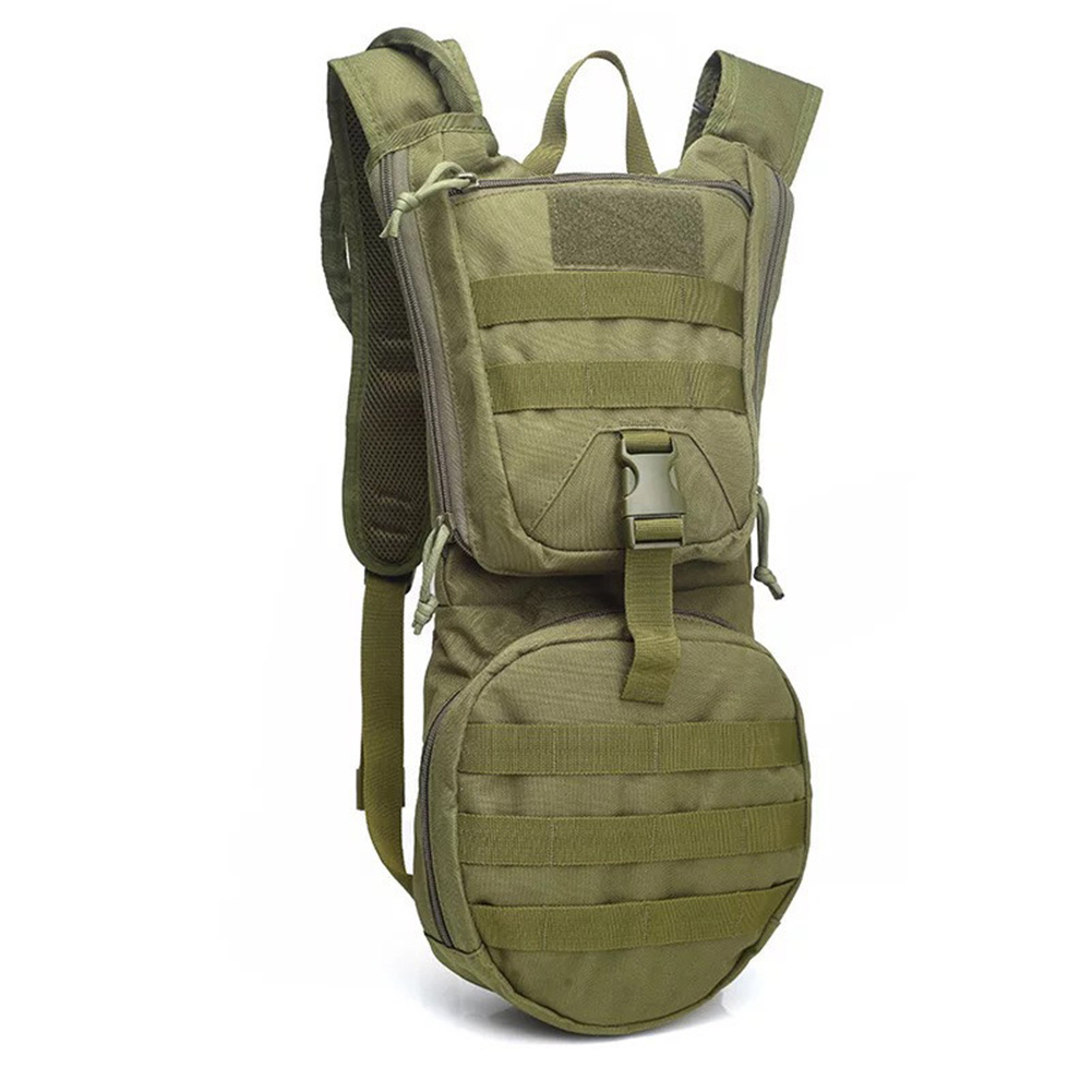 Cycling  Backpack Hydration Pouchc Ycling Water Bag For Ourdoor Activities ArmyGreen_With liner