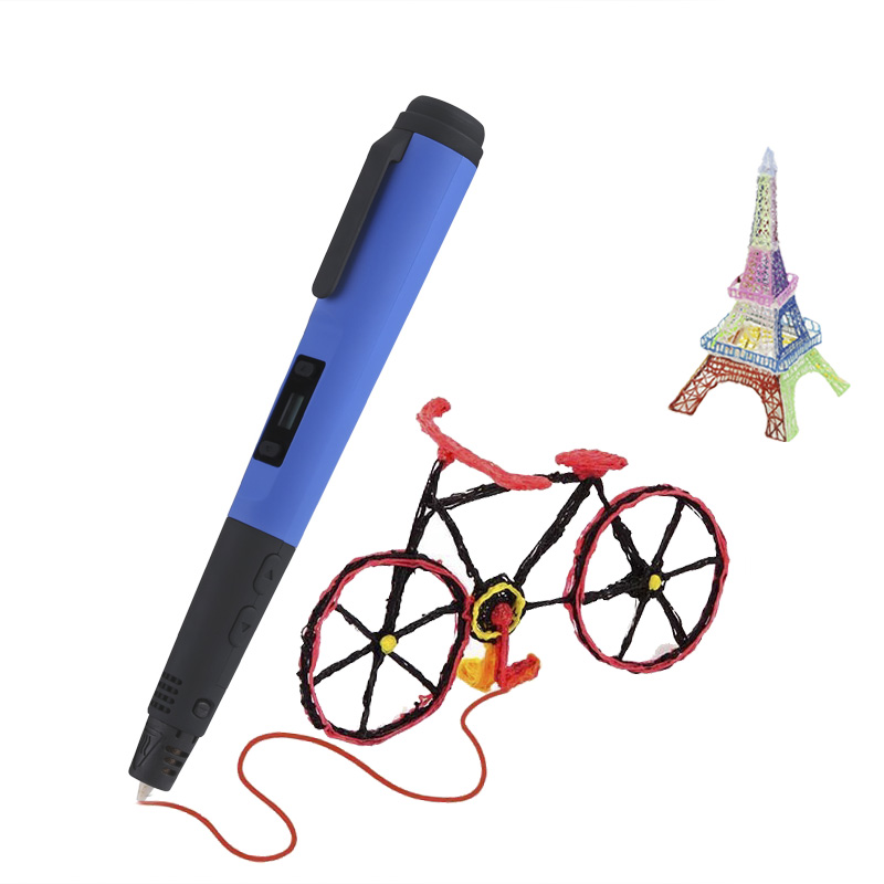 Intelligent 3D Pen (Blue)