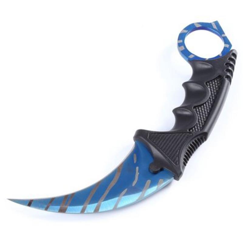 Machete Fringe Doppler Counter Strike Claw Knife Fixed Knives