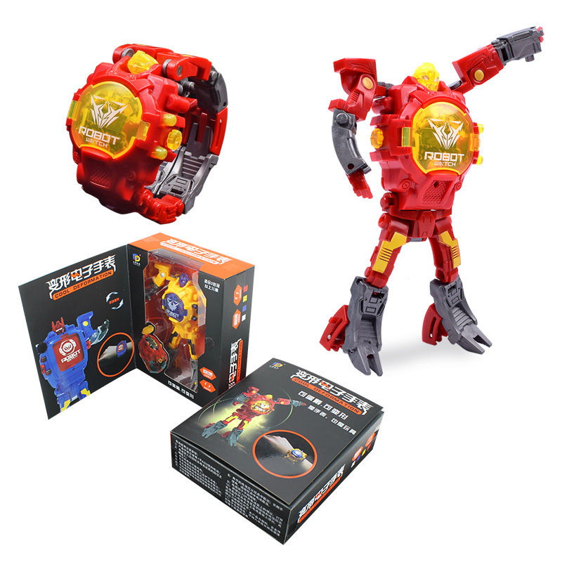 Creative Manual Transformation Robot Toys