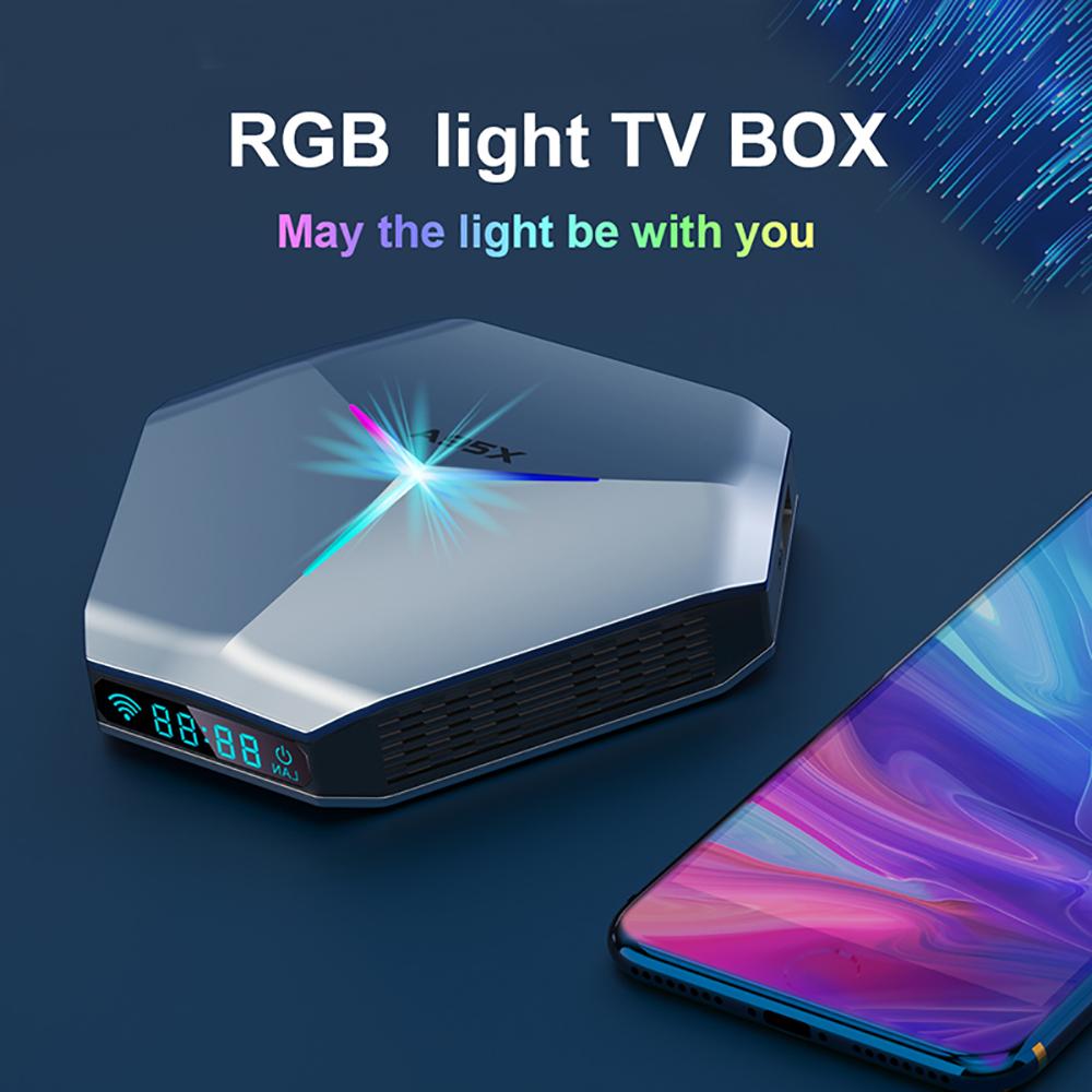 A95x F4 Tv Set-top Box No Accessories Video Signal Receiver 4GB+128GB