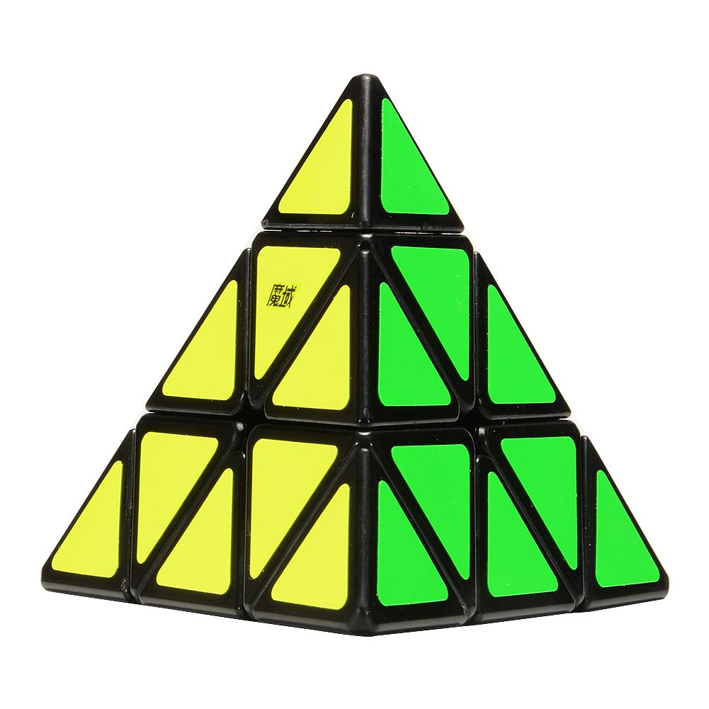 [US Direct] ThinkMax Pyraminx Speedcubing Black Twisty Puzzle