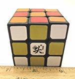 [US Direct] 5 ZhanChi mini 50mm 3 ~ 3 ~ 3 speed cube assembled black body DaYan