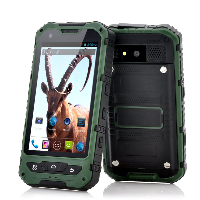 4 Inch Rugged Android 2 Phone Ibex G