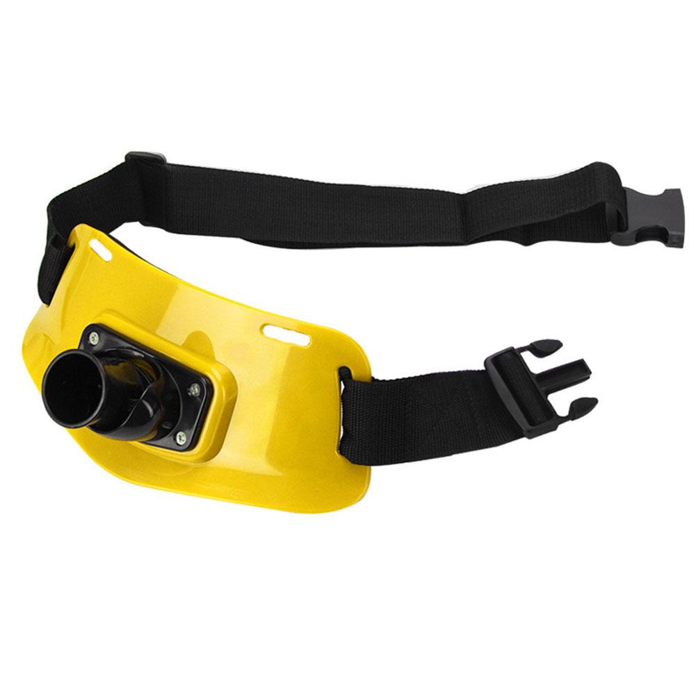 Professional Adjustable Stand Up Fishing Waist Gimbal Fighting Belt Rod Pole Holder yellow_Adjustable Fishing Gimbal