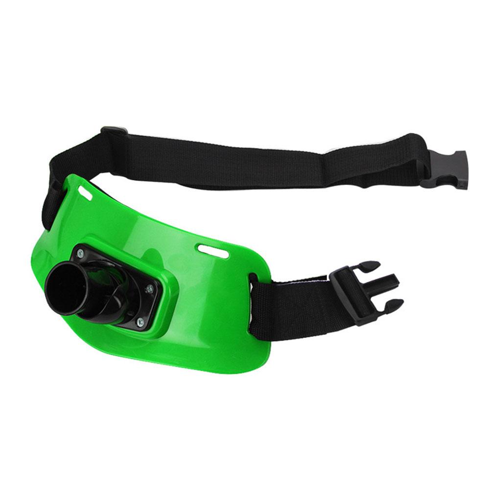 Professional Adjustable Stand Up Fishing Waist Gimbal Fighting Belt Rod Pole Holder green_Adjustable Fishing Gimbal