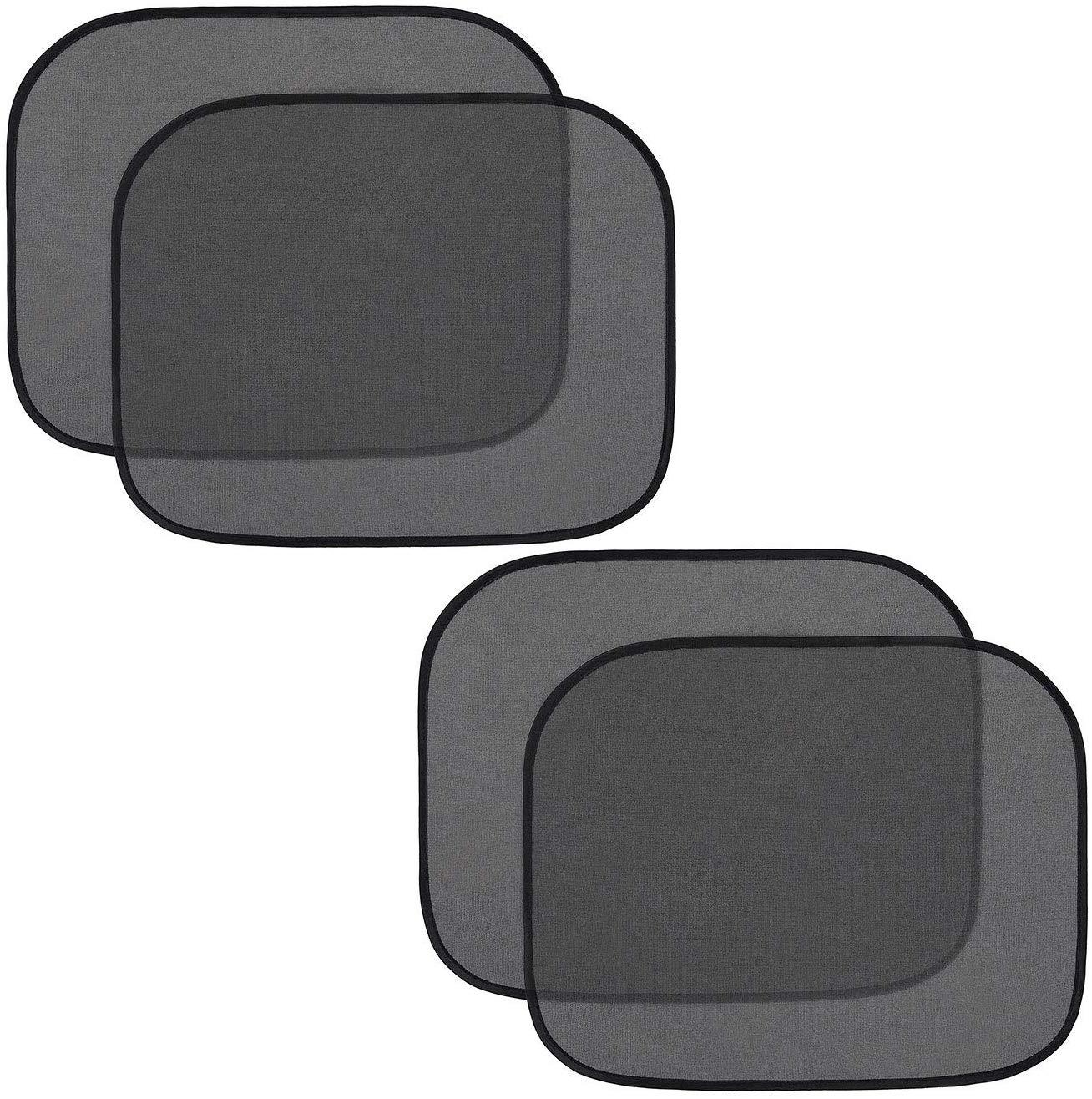 4pcs Car Window Shades 44*38cm Electrostatic Film Side Window Sunshade