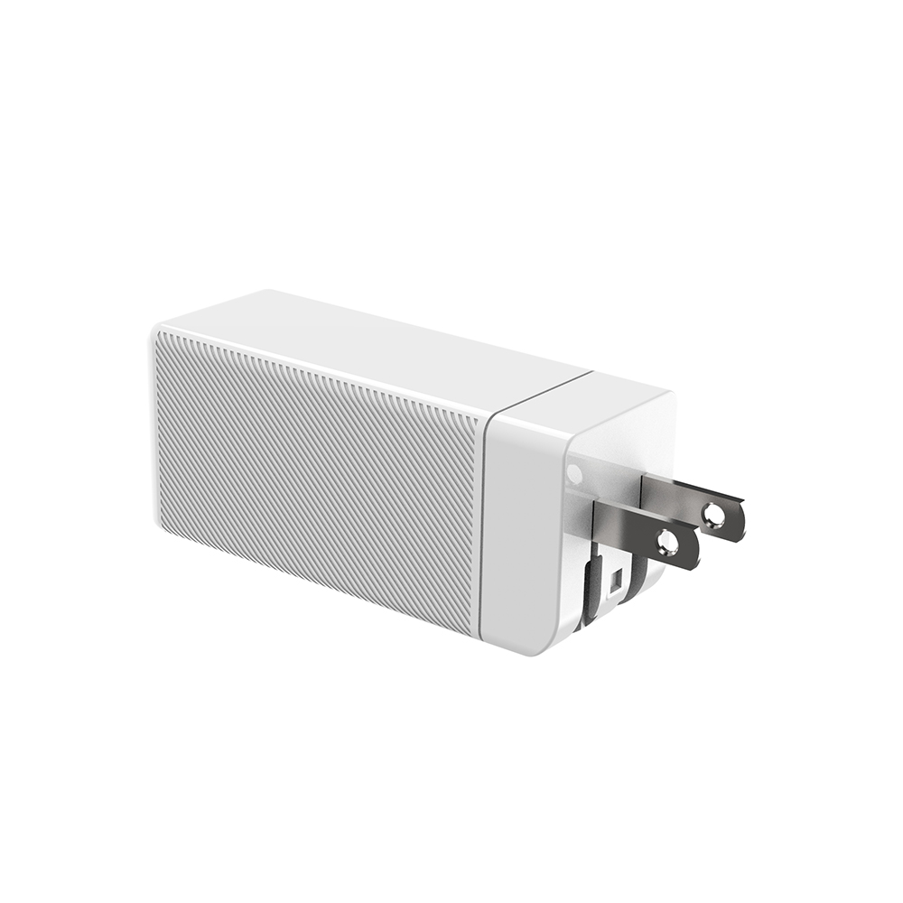 M1 65w Fast Charge Charger Portable Quick Usb Charger Mobile Charger white