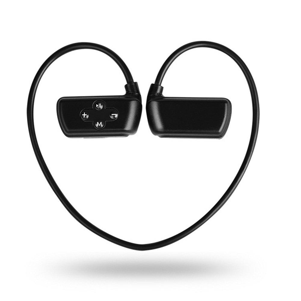 Waterproof BT MP3 Sports Running Music Player MP3 black