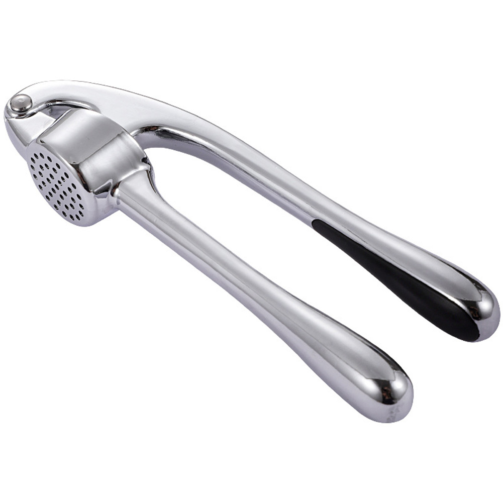 Garlic Press Mincing Crushing Tool with Ergonomic Handle for Ginger Nuts primary color