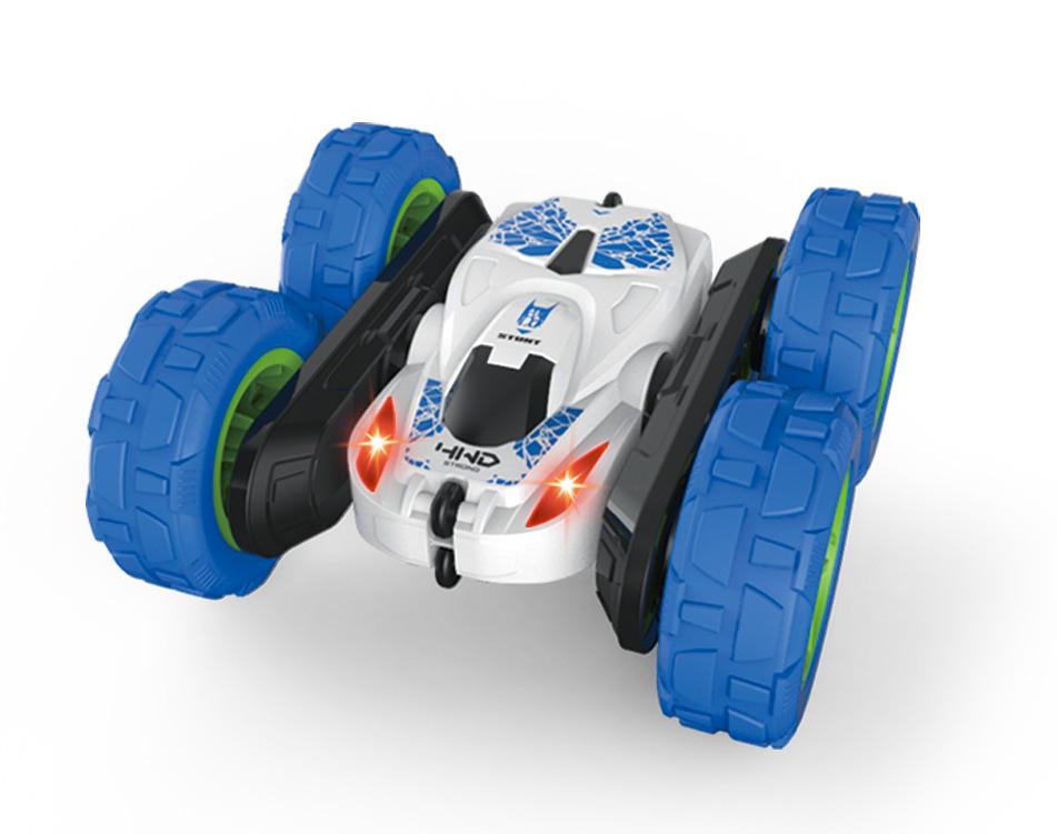 2.4G 4CH Stunt RC Car Drift Deformation Rock Crawler 360 Degree Flip Kid Toy Gift white