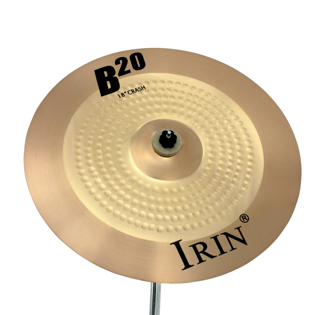 18 INCH Brass Alloy Crash Ride Hi-Hat Cymbal Drum Set For Percussion Instruments  45.5*45.5CM