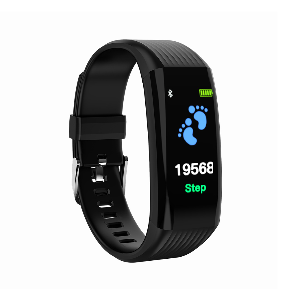 L2B38-B06 Sports Wristband Smart Band Black