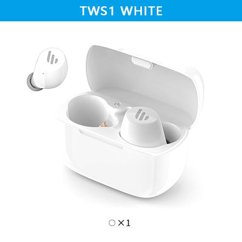 Original EDIFIER TWS1 TWS Earbuds Bluetooth 5.0 AptX Touch Control IPX5 Ergonomic Wireless Earphones white