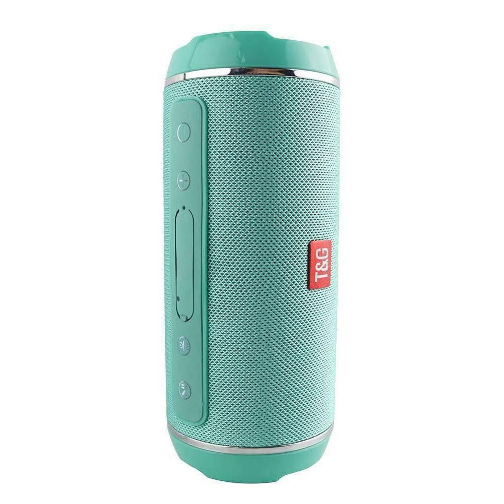 40w Wireless Bluetooth Speaker Waterproof Stereo Bass USB/TF/AUX MP3 Portable Music Player Green