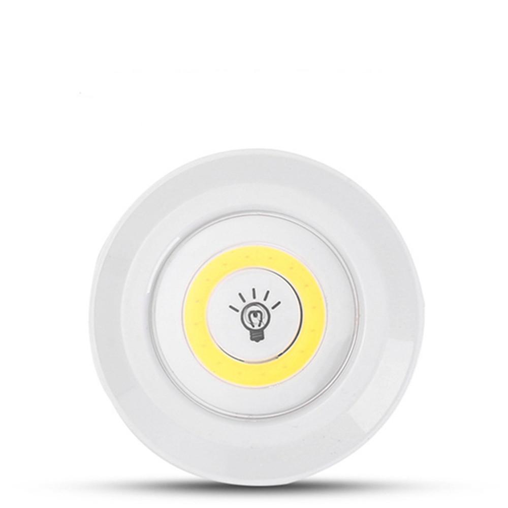 COB Wireless Remote Control Pat Light for Bedside Nursing Bedroom Cabinet Emergency Warm White_3