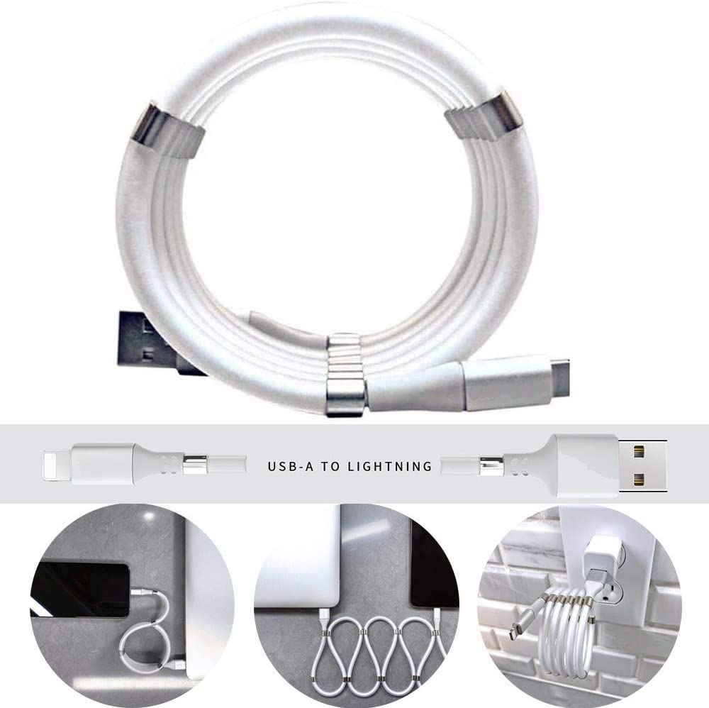One Meter Data Charging Cable Magnetic Absorption Type C Line  Apple interface
