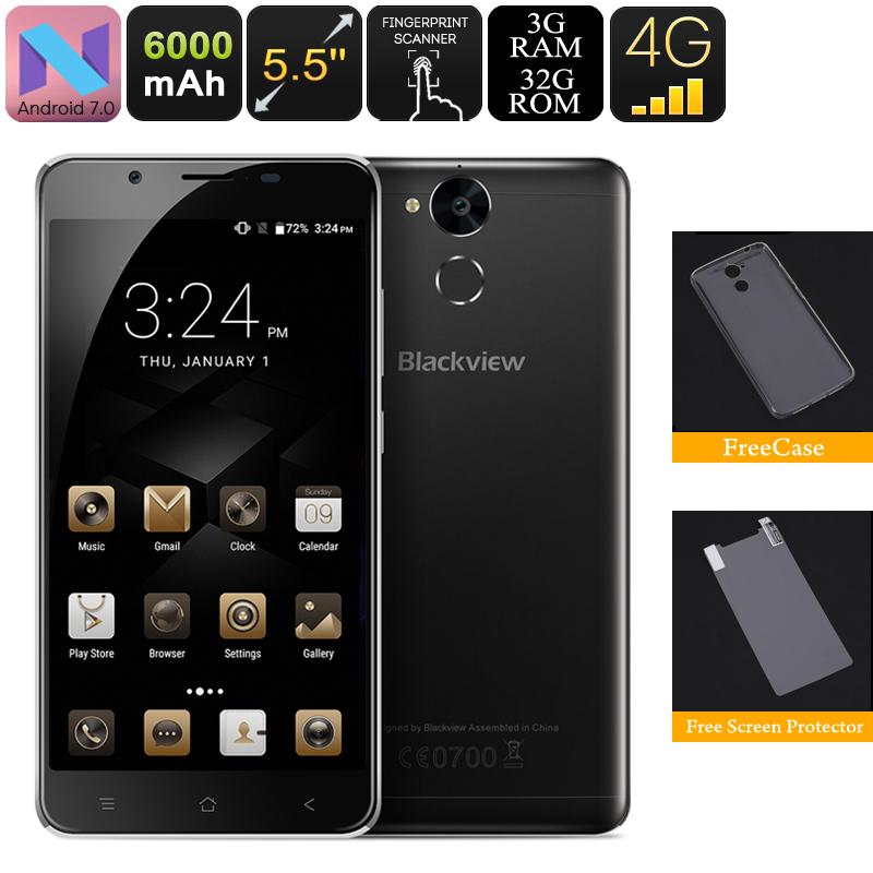 Blackview P2 Lite Android Phone (Black)