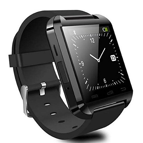 CIYOYO® U8S Smart Watch Phone Mate With Sync/Bluetooth 3.0/Anti-lost Alarm for Apple iphone 4/4S/5/5C/5S Android Samsung S2/S3/S4/Note 2/Note 3 HTC Sony Blackberry With Free CIYOYO Earphon