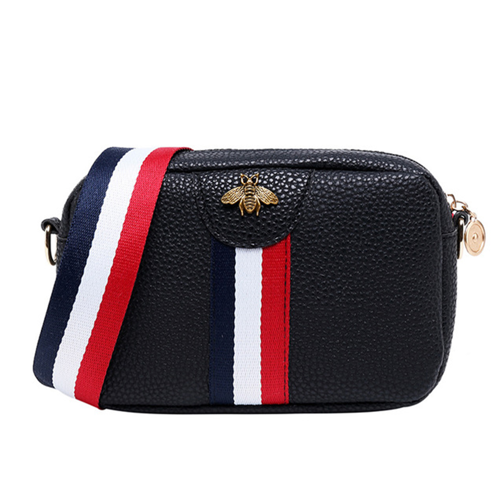Mini Portable Single shoulder Bag Black