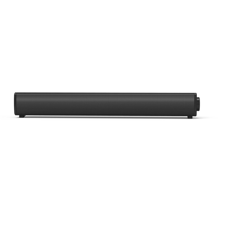 Portable Stereo Speaker for Computer Laptop Speaker with Volume Knob black