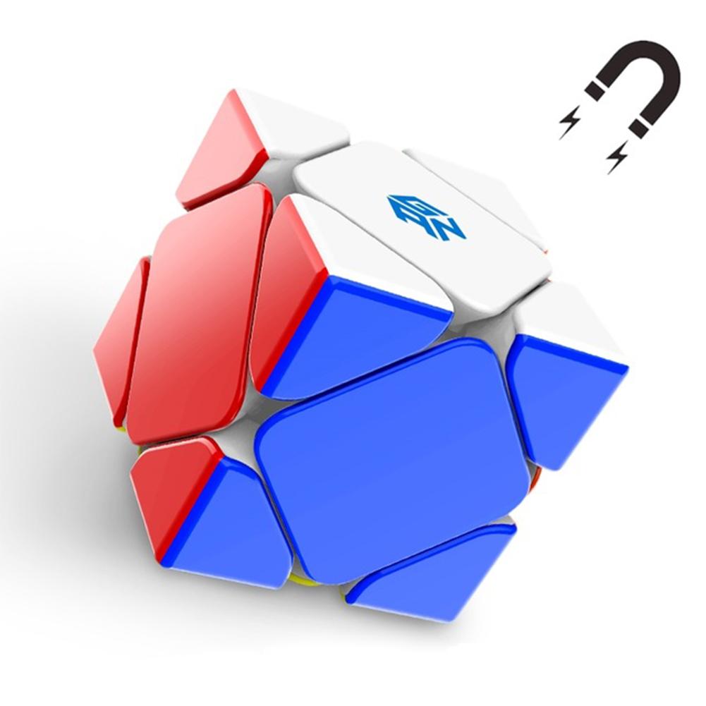 Gan Cubes Gan Magnetic Skew Cube Gan Profissional Cube Toys 2020 S Speed  Cube Gan Magnet Cube Gan Puzzle Educational Toys Core positioning