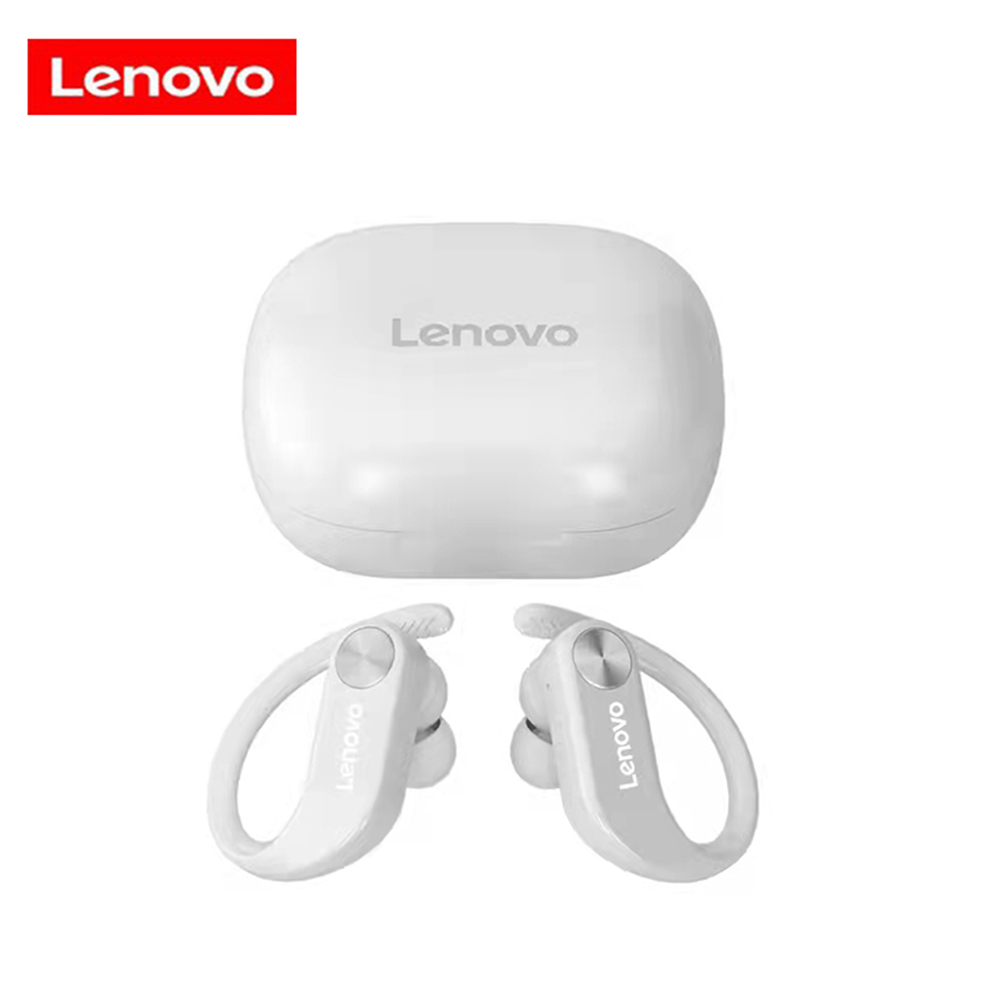 Original LENOVO Lp7 Tws Bluetooth  Earphone Anti Slip Sport Running Wireless Earbuds Headphones With Mic Hd Stereo Ipx5 White