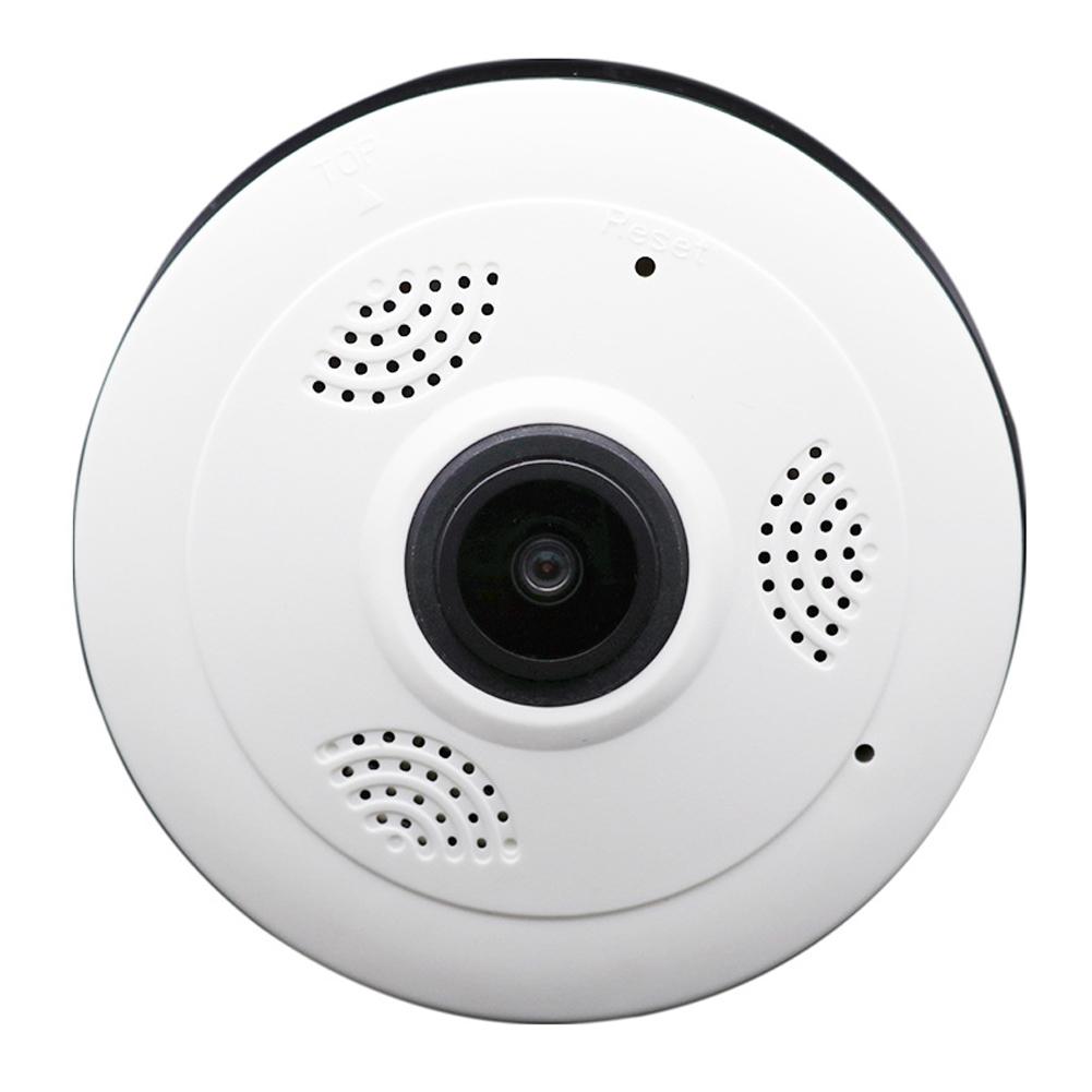 Small UFO Shaped Panoramic WIFI Camera 360 Degree Monitor 960P HD WIFI Smart Camera UK Plug