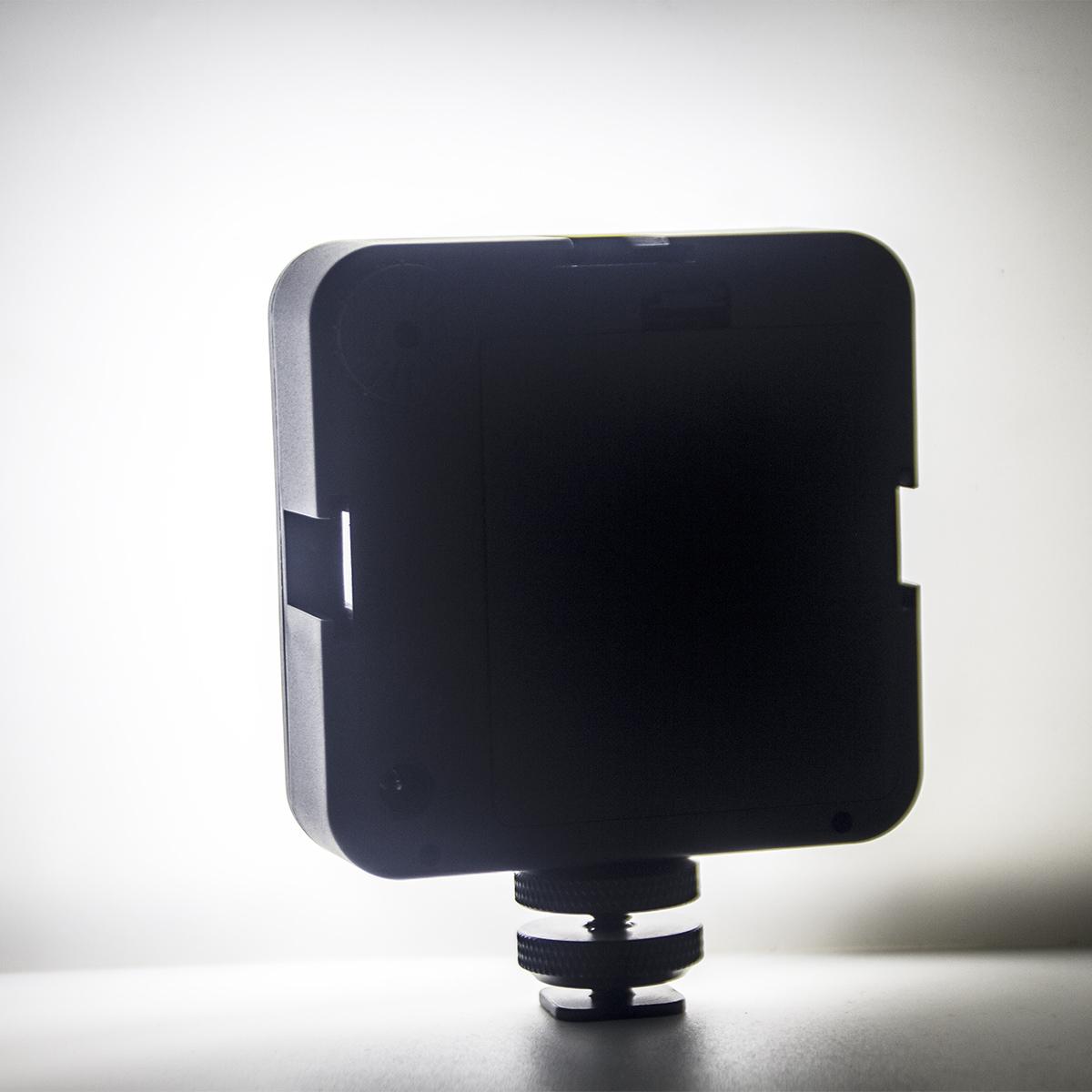 64 LED Video Light for DSLR Camera Camcorder mini DVR as Fill Light for Wedding News Interview Macrophotography black