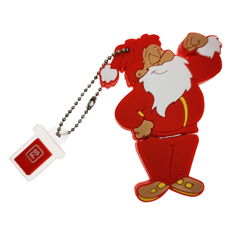 FoxSank Santa Claus Shape Flash Drive 4GB