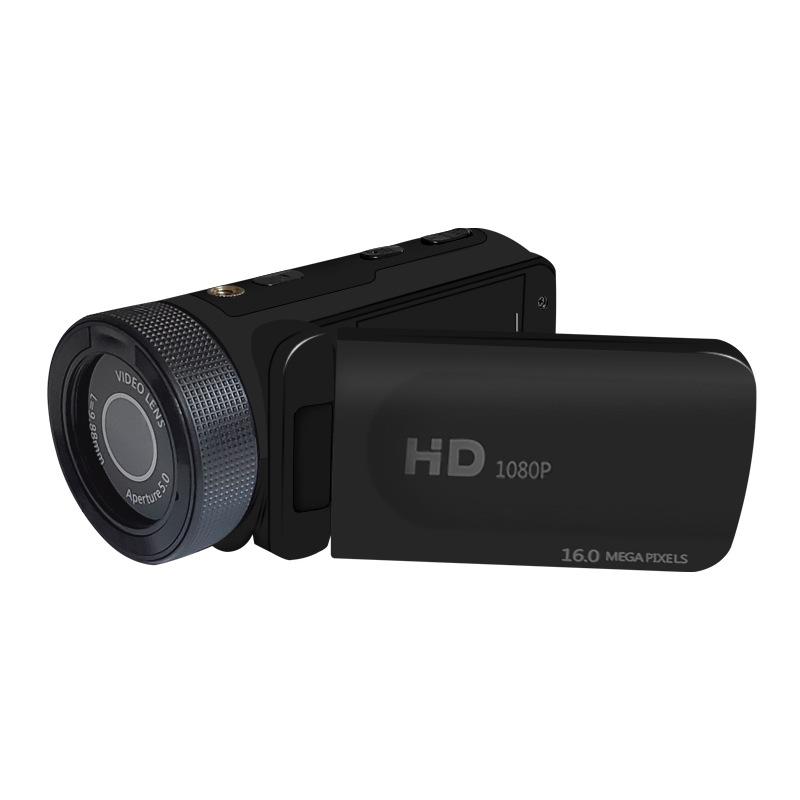 HD 1080P Digital Video Camera Camcorder W/Microphone Photography 16 Million Pixels Black standard