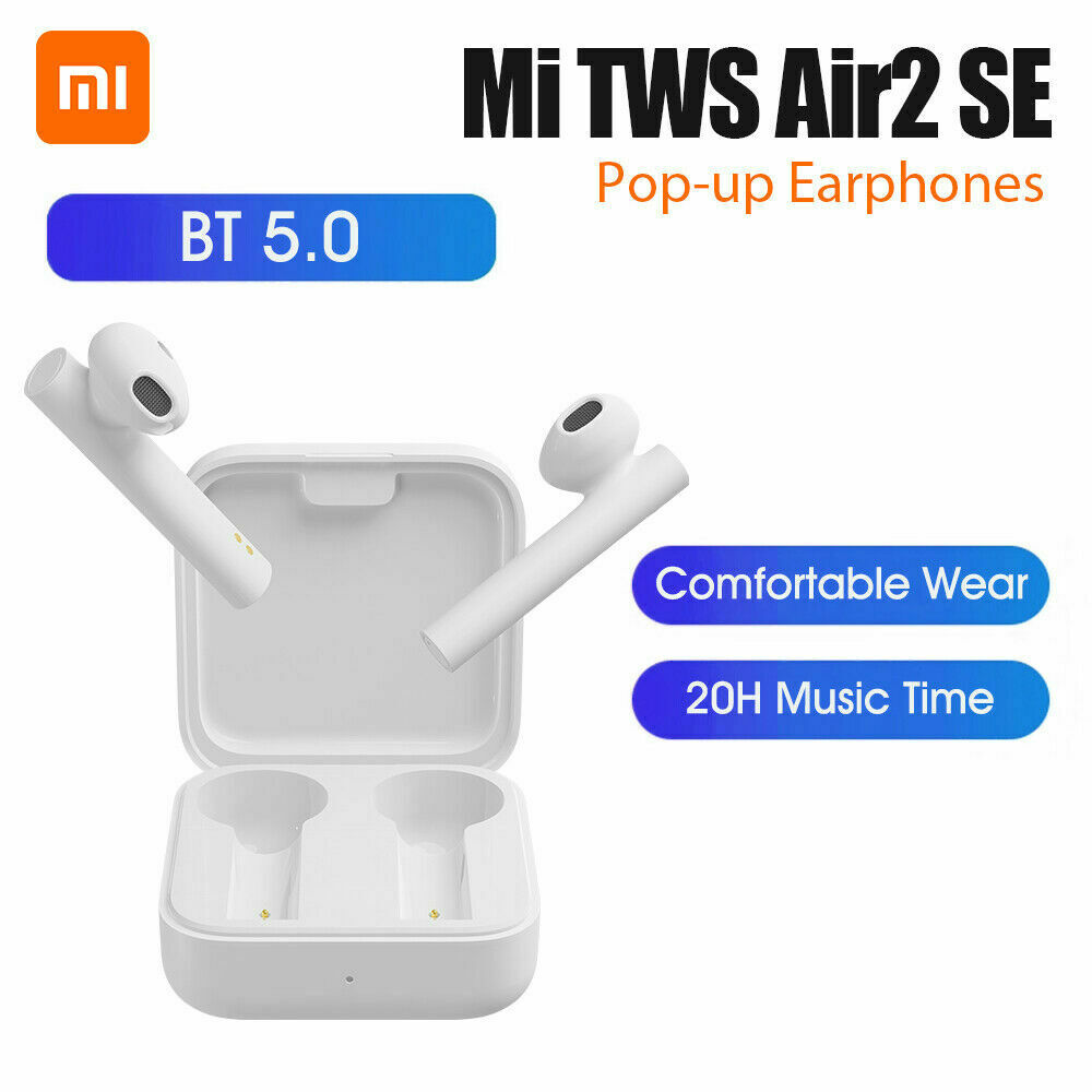 Xiaomi Air2 SE Wireless Bluetooth Earphone Smart Connection Earbuds  white