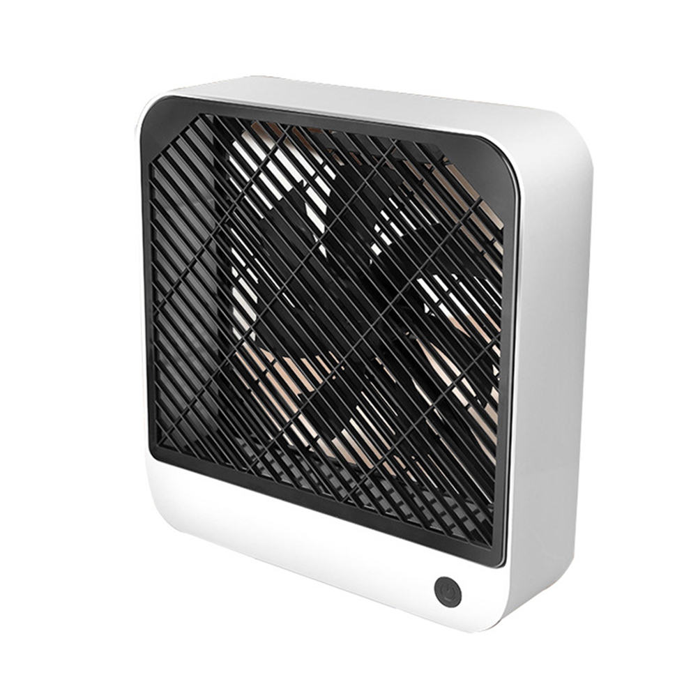 USB Charging Mini Table Fan 2 Modes Adjustable Mute Cooling Fan for  Home Office Photo Color