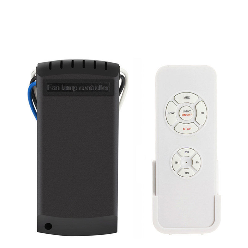 110V220V Universal Fan Lamp Wireless Remote Control Speed Governor Kit Timing Wireless Control  Remote control+speed governor