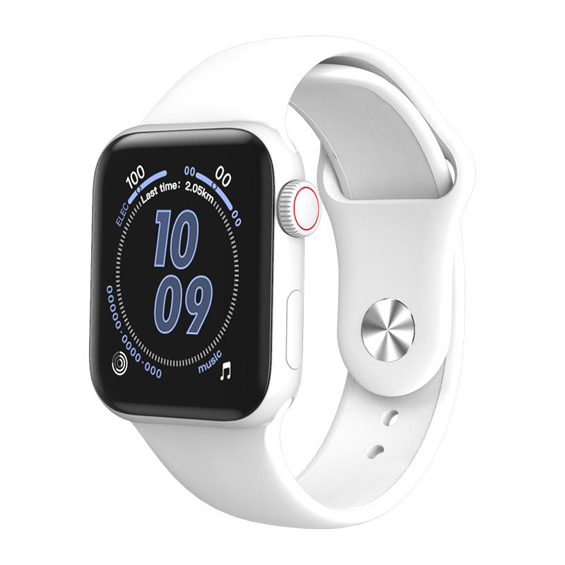 W58 PRO Smart Watch Body Temperature Blood Pressure Heart Rate Immunity Monitoring Bluetooth Bracelet white
