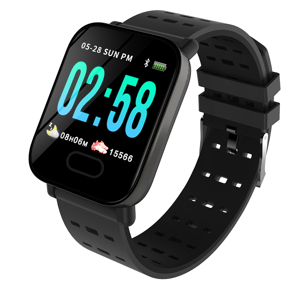 Black Color Screen Smart Bracelet