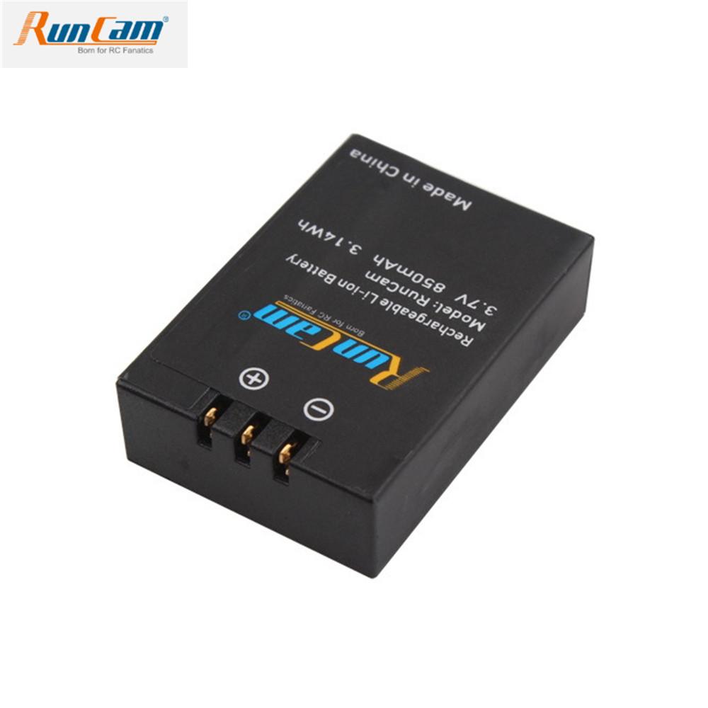 RunCam Removable battery for RunCam 2/RunCam 3S/Scope Cam/Scope Cam Lite/Scope Cam 4K 850mah