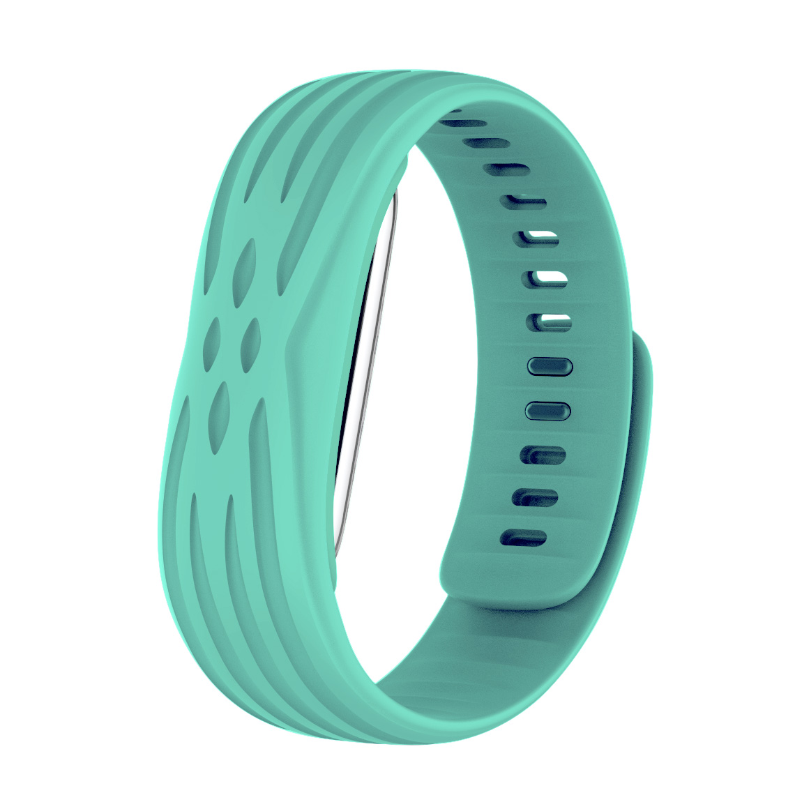[US Direct] Bluetooth 4.1 Wristband Heart Rate Monitor Smart Watch with USB Plug Green