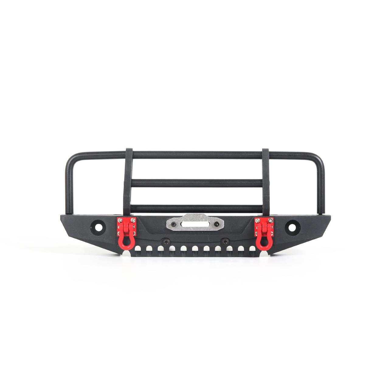 Adjustable Metal Front Bumper for 1/10 RC Crawler Traxxas TRX4 Defender Axial SCX10 SCX10 II 90046 90047 black
