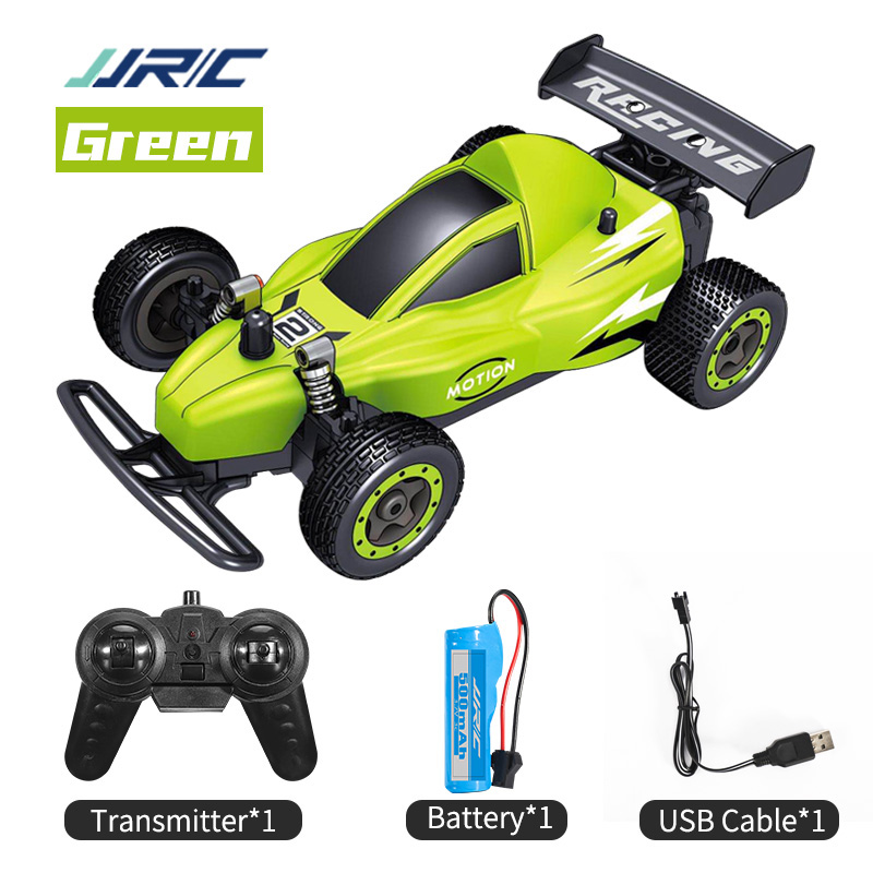 JJRC Q72B RC Racing Car Drift Vehicle High Speed Toys for Boy 2.4 GHZ 15Mins Remote Control Cars 15mins green